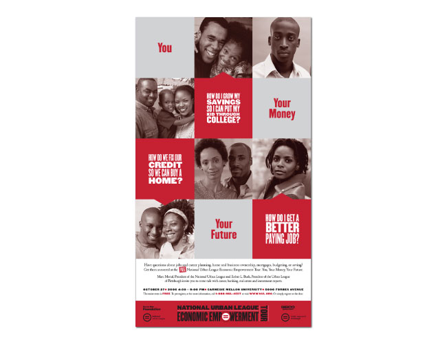 National Urban League campaign poster